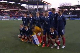 France - Etats-Unis - Match amical