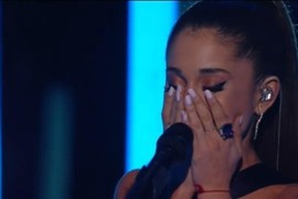 "Ariana Grande ""Just A Little Bit Of Your Heart"" - Grammy Awards 2015"