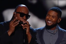 "Usher ""If It's Magic"" de Stevie Wonder - Grammy Awards 2015"