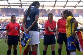 France - brésil féminines - Match amical - 19/09/2015